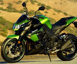 bike, z1000, and kawasaki image