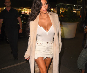 fashion, kim kardashian, and outfit image