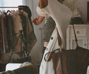 fashion, style, and cardigan image