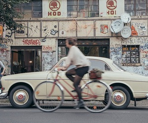 car, aesthetic, and bike image