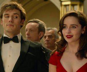 me before you, emilia clarke, and movie image