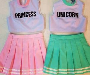 unicorn, princess, and pink image