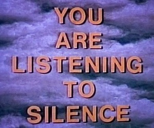 silence, grunge, and text image