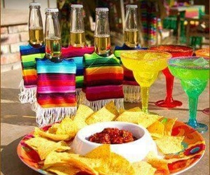 nachos, viva mexico, and party image
