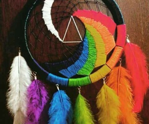 dreamcatcher, nights, and Pink Floyd image