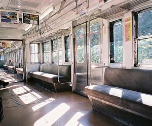 train, japan, and indie image