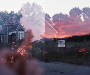 grunge, sunset, and photography image