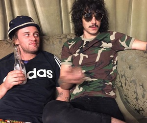 aussie, sticky fingers, and aussie band image