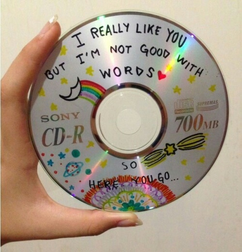 cd, doodle, and cute image