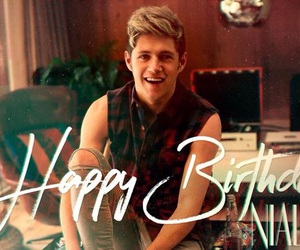 happy birthday and niall horan image