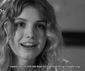 cassie, skins, and quote image