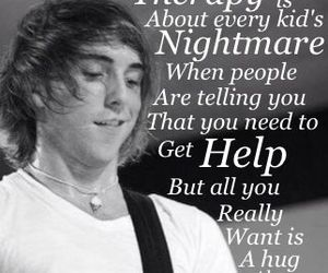 therapy, alex gaskarth, and all time low image