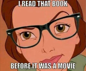 book, movie, and disney image