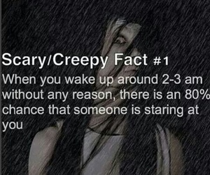 creepy, fact, and scary image