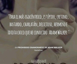adam, frases, and Walker image