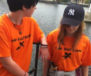 annabeth chase, percy jackson, and percy image