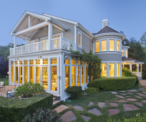 architecture, california, and home image