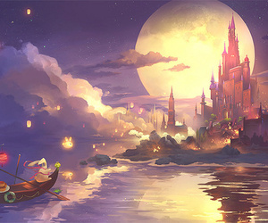 fantasy and night image