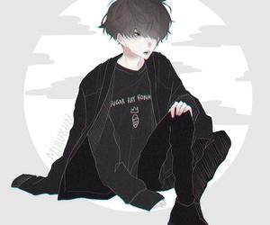 anime, dark, and fashion image
