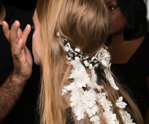 blonde, fashion, and fashion week image