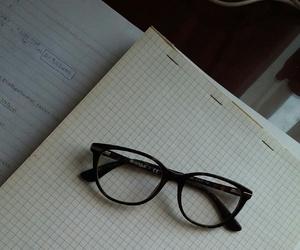 chemistry, eyeglasses, and glasses image