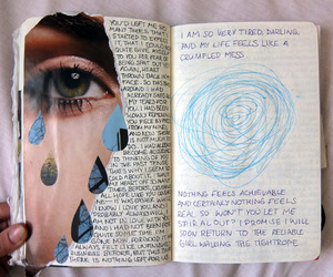 art, journal, and journaling image