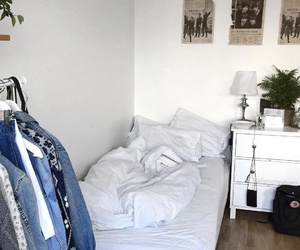 room, alternative, and bed image