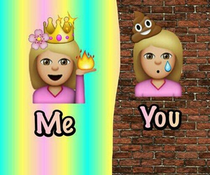 emoji, me, and you image