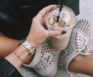 coffee, fashion, and drink image