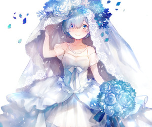 rem, anime girl, and re:zero image