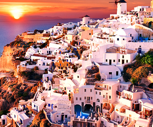 Greece, travel, and beautiful image