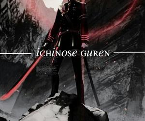 boy, human, and guren ichinose image