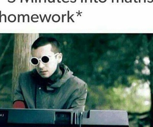 twenty one pilots, funny, and tøp image