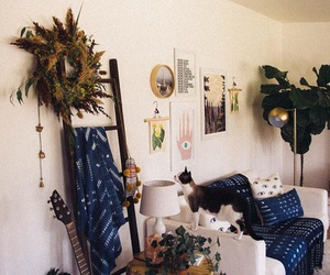 interior design, vintage, and bohemian room image