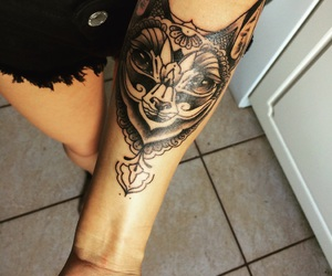 cat and tatto image