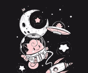 pokemon, space, and clefairy image