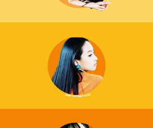 kpop, orange, and victoria image