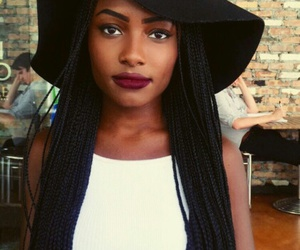 black and braids image