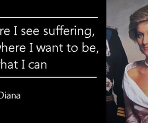 lady diana, quote, and words of wisdom image