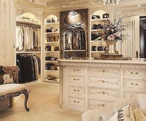 closet, fashion, and luxury image
