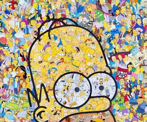 simpsons, the simpsons, and homer image