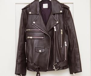 burgundy, fashion, and leather jacket image