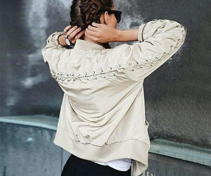 fashion, jacket, and pullover image