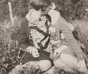 sapphic and vintage lesbians image