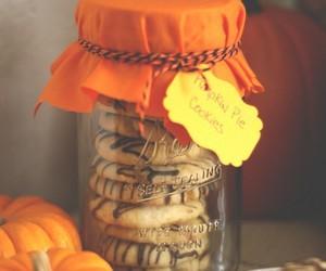 pumpkin, autumn, and Cookies image