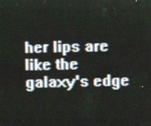 lips, galaxy, and arctic monkeys image