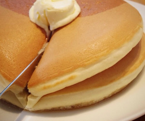 food, pancakes, and theme image