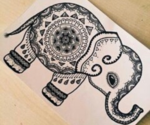 draw and elephant image