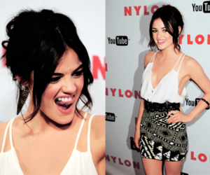 cute, girl, and lucy hale image