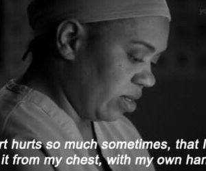 heart, hurt, and grey's anatomy image